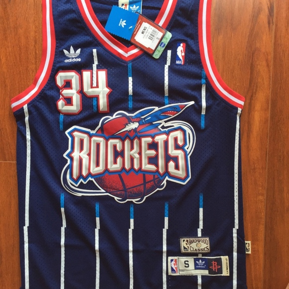 77% off Other - Hakeem Olajuwon Retro Houston Rockets Jersey from ... 11f804fd2